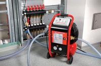 Промывка и опрессовка системы отопления и водоснабжения