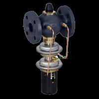 Регуляторы перепада давления с автоматическим ограничением расхода AVPQ, AVPQ-4